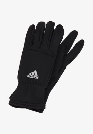 GLOVES - Sormikkaat - black/black/reflektive silver