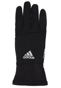 adidas Performance - GLOVES - Guantes - black/black/reflektive silver - 3