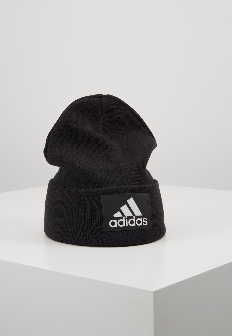 adidas Performance - LOGO WOOLIE - Beanie - black/white