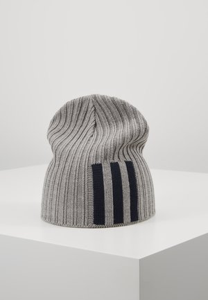 BEANIE - Berretto - grey heather/pink/white