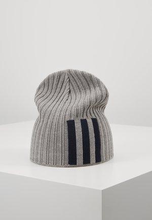 BEANIE - Czapka - grey heather/pink/white
