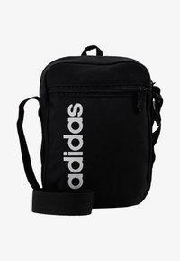 adidas Performance - ESSENTIALS LINEAR SPORT ORGANIZER BAG - Torba na ramię - black/white - 6