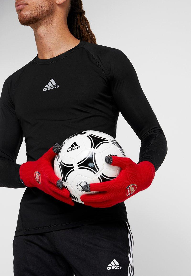 adidas Performance - ARSENAL LONDON FC GLOVES - Torwarthandschuh - scarlet/collegiate navy/white