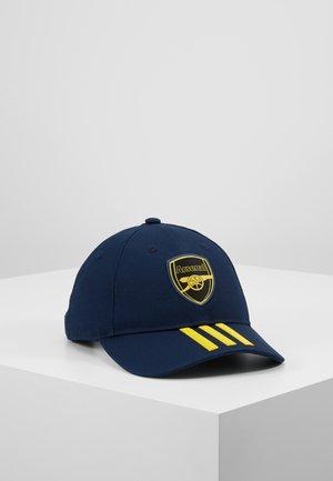 ARESENAL LONDON FC - Cap - collegiate navy/yellow