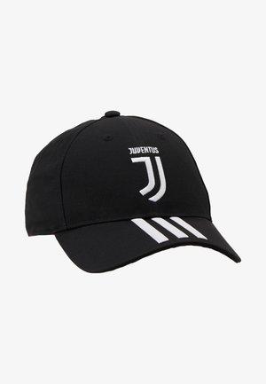 JUVENTUS TURIN C40 CAP - Keps - black/white/active pink