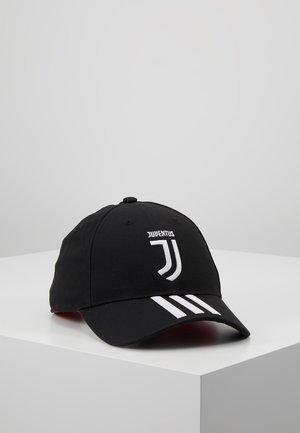 JUVENTUS TURIN C40 CAP - Cap - black/white/active pink