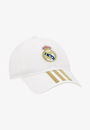 REAL MADRID - Casquette - white/dark gold