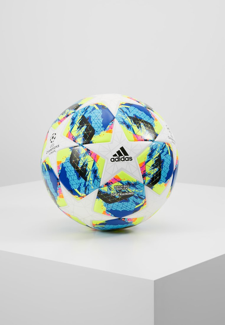 adidas Performance - FINALE - Fodbolde - white/bright/cyan/shock yellow