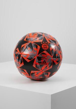FINALE - Balón de fútbol - black/solar red/grey heather