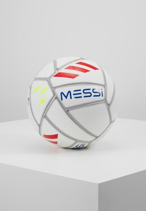 MESSI - Fodbolde - white/cyan raw yellow