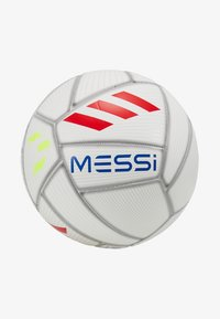 adidas Performance - MESSI - Balón de fútbol - white/cyan raw yellow - 2