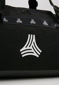 adidas Performance - Sports bag - black/white/carbon - 7