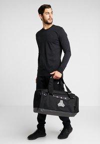 adidas Performance - Sports bag - black/white/carbon - 1