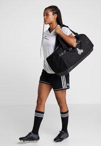 adidas Performance - Sports bag - black/white/carbon - 6