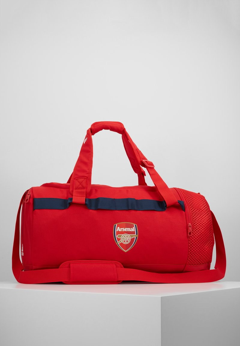 adidas Performance - AFC - Sports bag - scarlet/collegiate navy/white