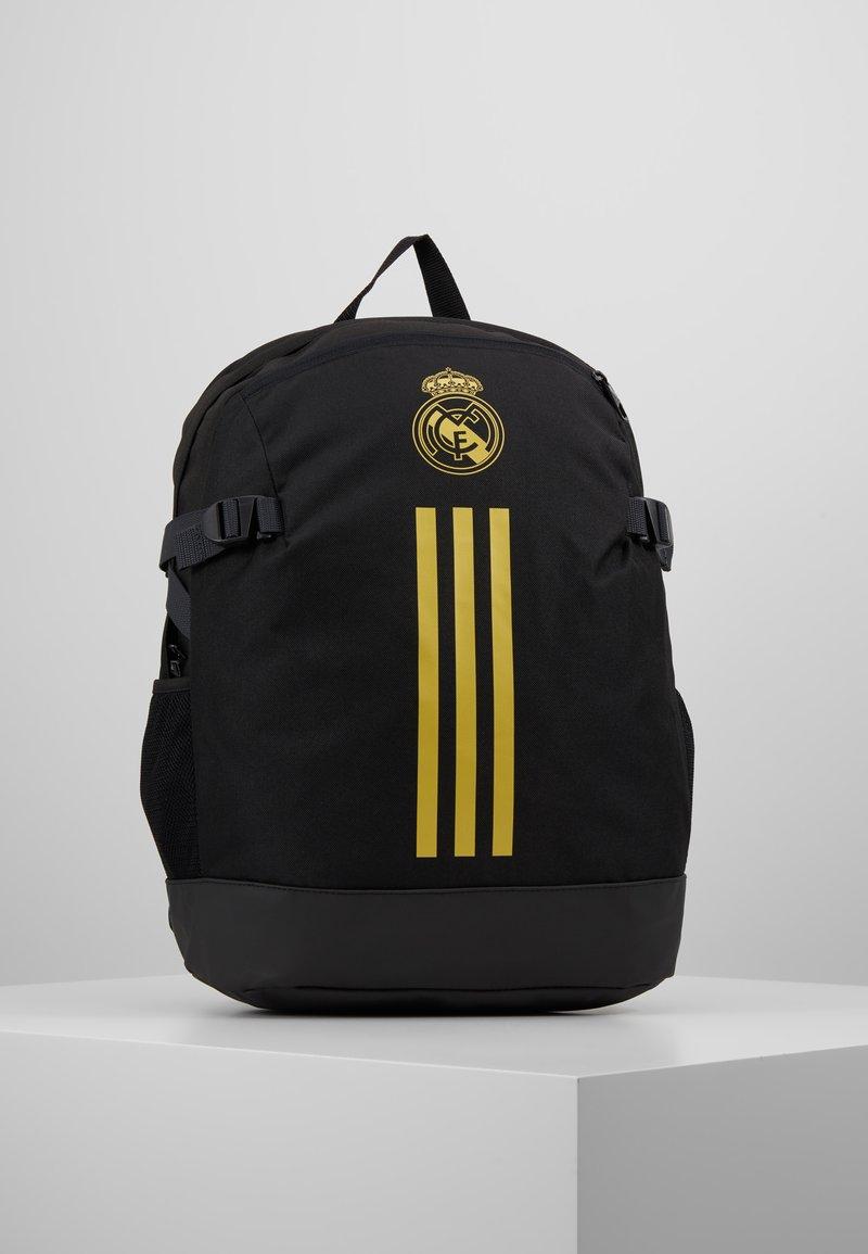 adidas Performance - REAL MADRID - Rucksack - black/dark gold