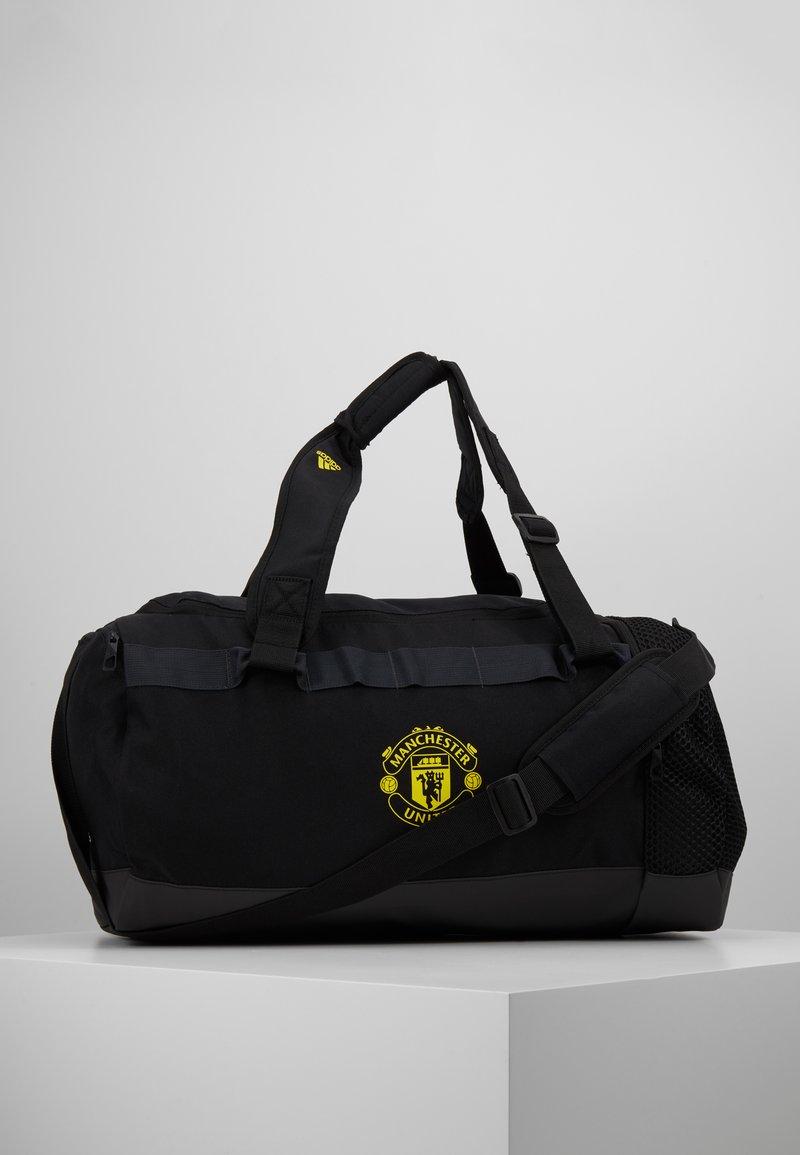 adidas Performance - MANCHESTER UNITED FC - Sporttasche - black/solar grey/bright yellow