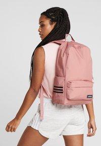 adidas Performance - CLASSIC  - Rucksack - raw pink/grey six/white - 5