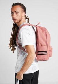 adidas Performance - CLASSIC  - Rucksack - raw pink/grey six/white - 1