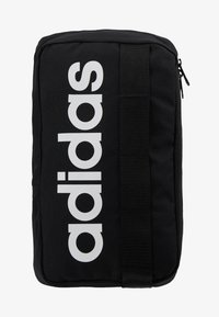 adidas Performance - LIN CORE CROSS - Across body bag - black/white - 6