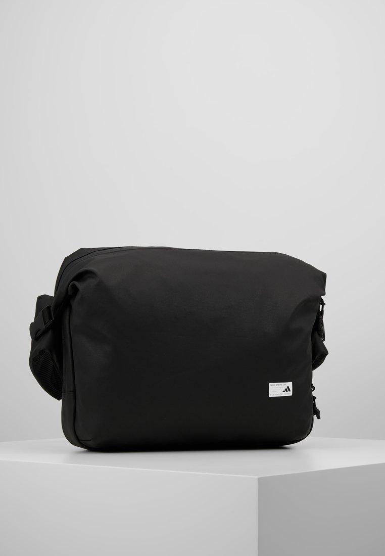 adidas Performance - MEGA - Torba na ramię - black/white