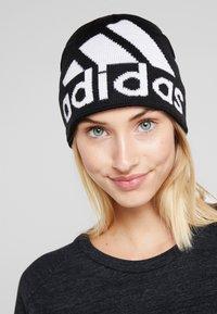 adidas Performance - BIG LOG BE - Mössa - black/white - 3