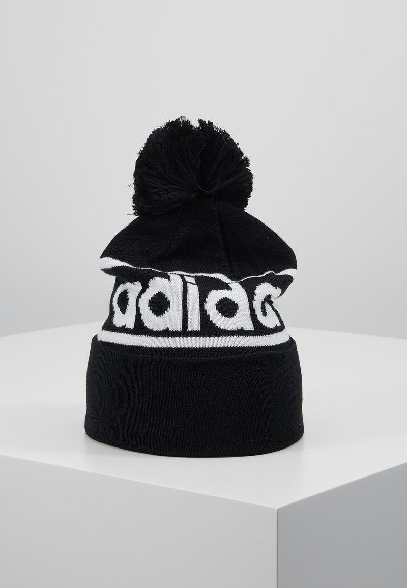 adidas Performance - LOGO POM  - Gorro - black/dark grey heather/white