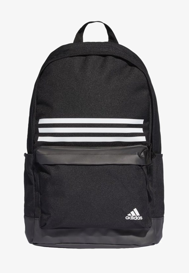 adidas Performance - CLASSIC 3-STRIPES POCKET BACKPACK - Zaino -  black/white