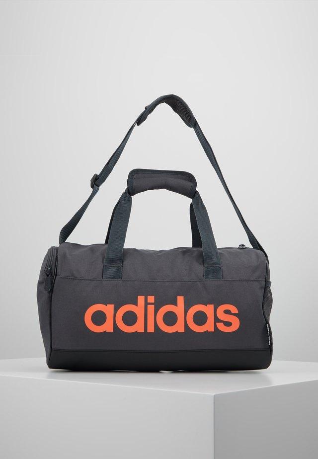 LIN DUFFLE XS - Sports bag - grey six/black/silver grey core