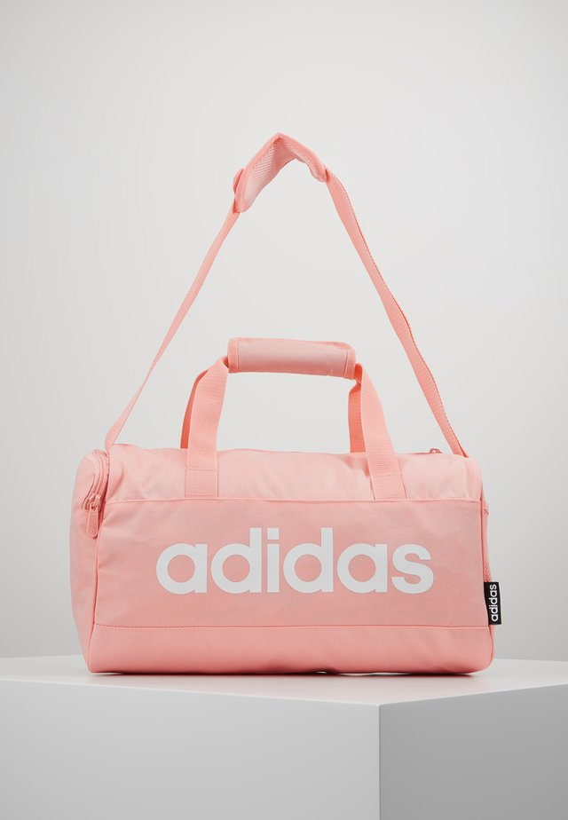 LIN DUFFLE XS - Treningsbag - glow pink/white