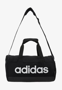 adidas Performance - LIN DUFFLE XS - Sports bag - black/white - 6