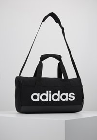 adidas Performance - LIN DUFFLE XS - Sports bag - black/white - 0