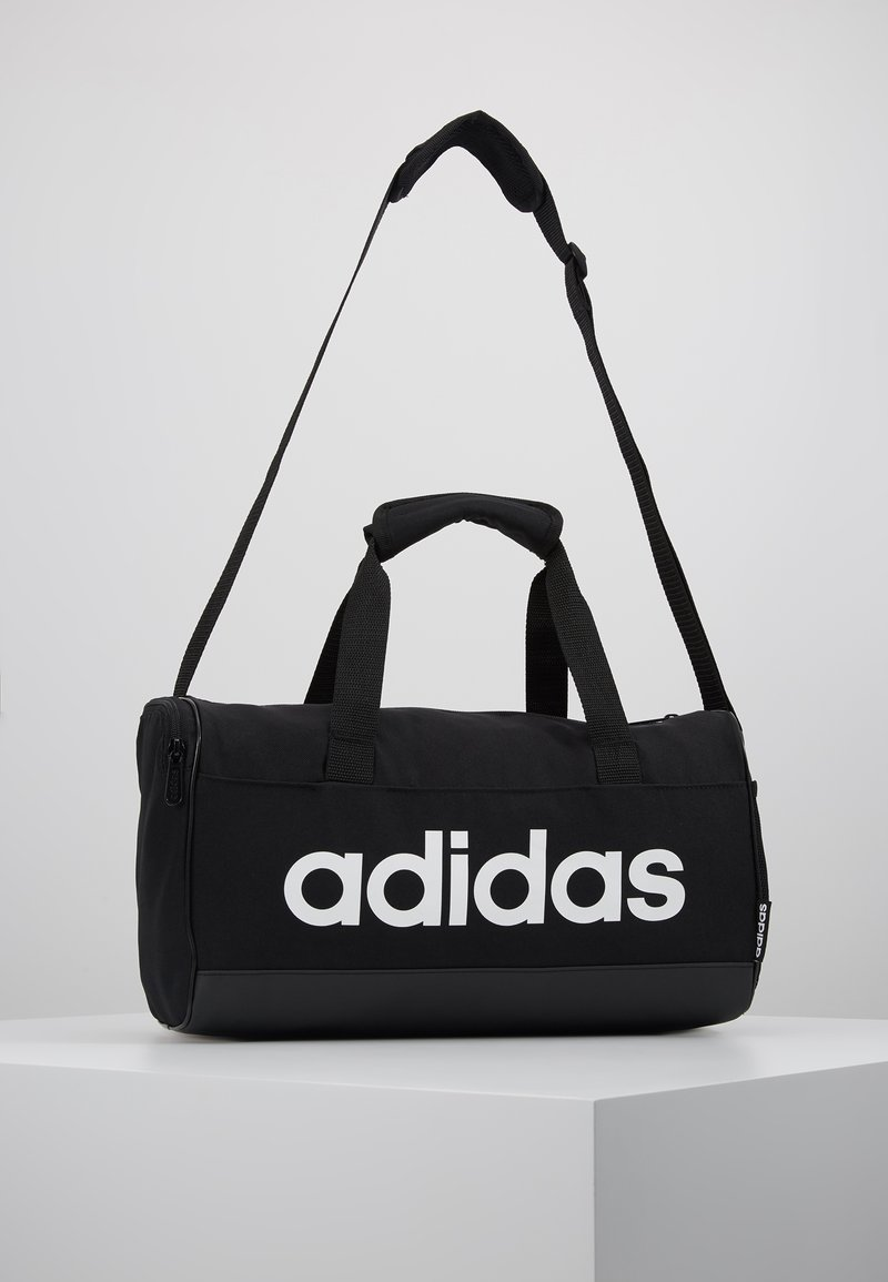 adidas Performance - LIN DUFFLE XS - Sports bag - black/white
