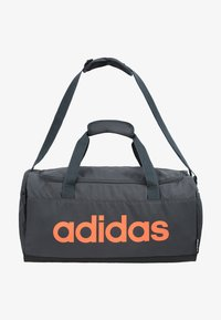 adidas Performance - LIN DUFFLE S - Sportväska - grey six/black/silver grey core - 7