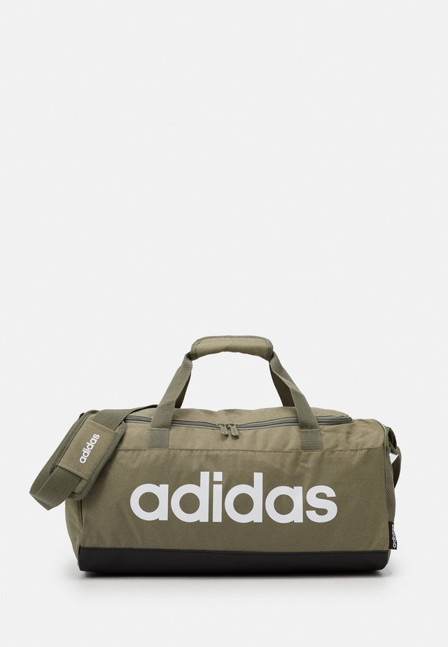 ESSENTIALS LINEAR SPORT DUFFEL BAG UNISEX - Sportväska - green
