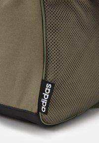 adidas Performance - ESSENTIALS LINEAR SPORT DUFFEL BAG UNISEX - Sports bag - green - 5