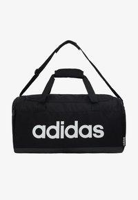 adidas Performance - LIN DUFFLE S - Treningsbag - black/white - 6