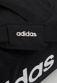 adidas Performance - LIN DUFFLE S - Treningsbag - black/white - 7