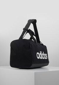adidas Performance - LIN DUFFLE S - Treningsbag - black/white - 3
