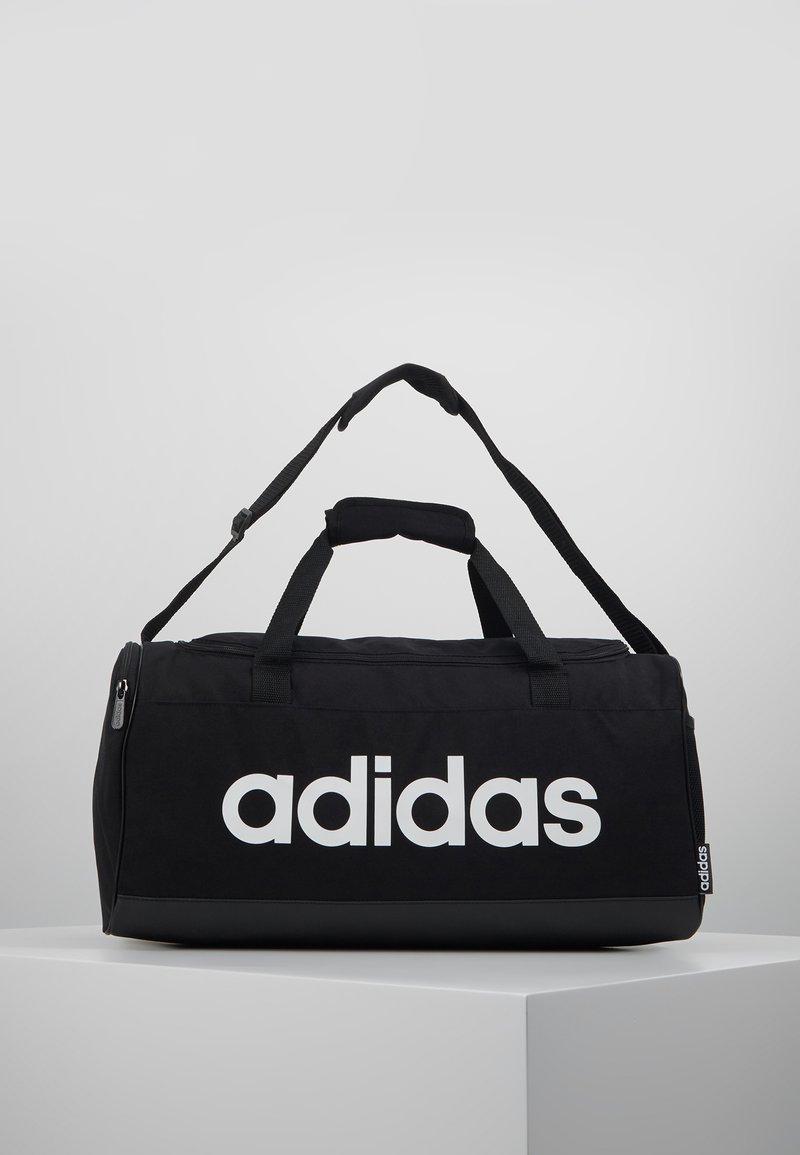 adidas Performance - LIN DUFFLE S - Treningsbag - black/white
