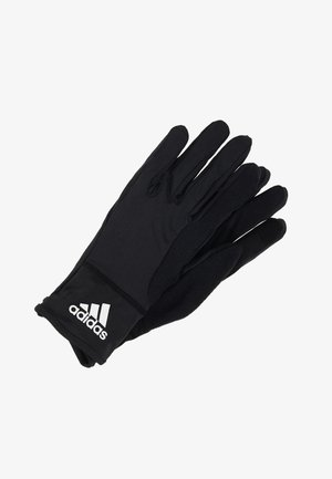 GLOVES - Guantes - black/reflektve silver/white