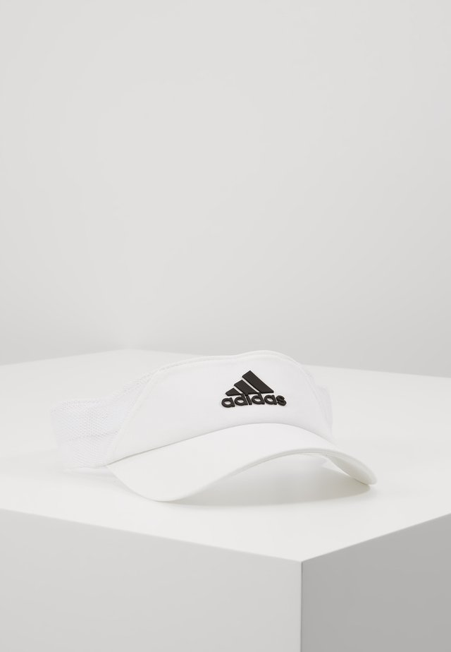 DESIGNED2MOVE AEROREADY SPORT VISOR - Casquette - white/black