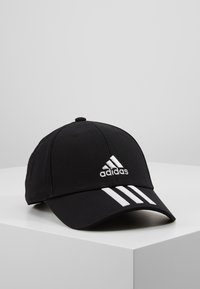 adidas Performance - 3STRIPES BASEBALL COTTON TWILL SPORT - Lippalakki - black/white/white - 0