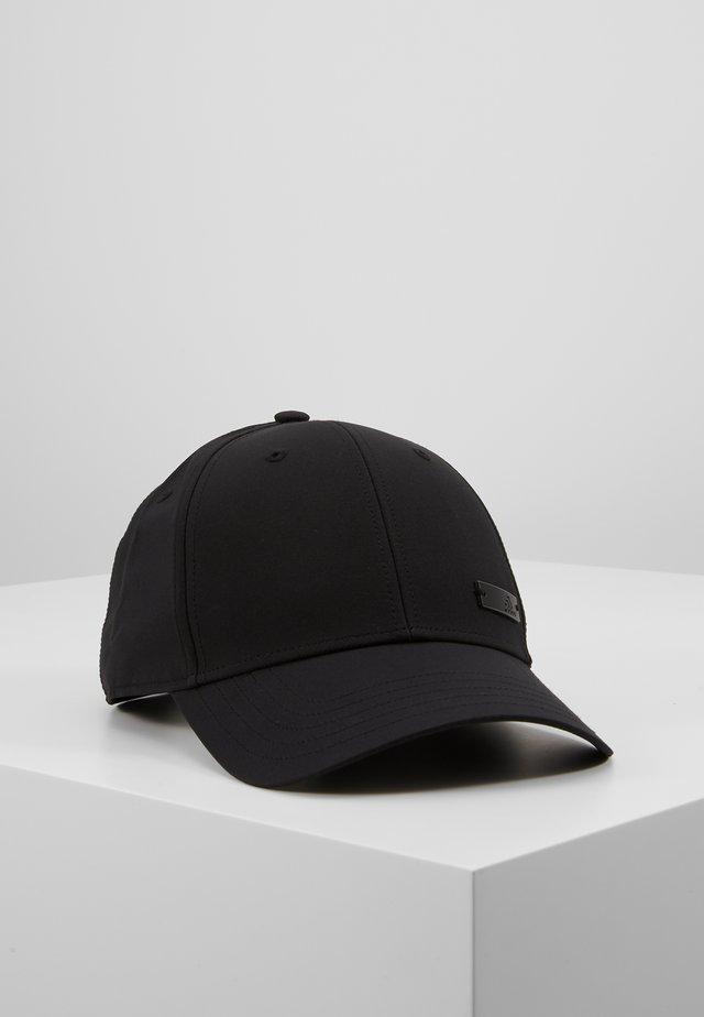 BBALLCAP LT MET - Keps - black/black/black