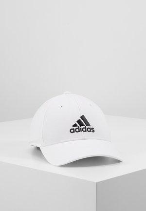 Kšiltovka - white/white/black