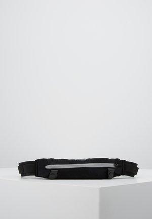 RUN BELT - Bältesväska - black/reflektive silver