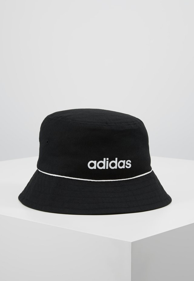 BUCKET HAT - Kapelusz - black/white