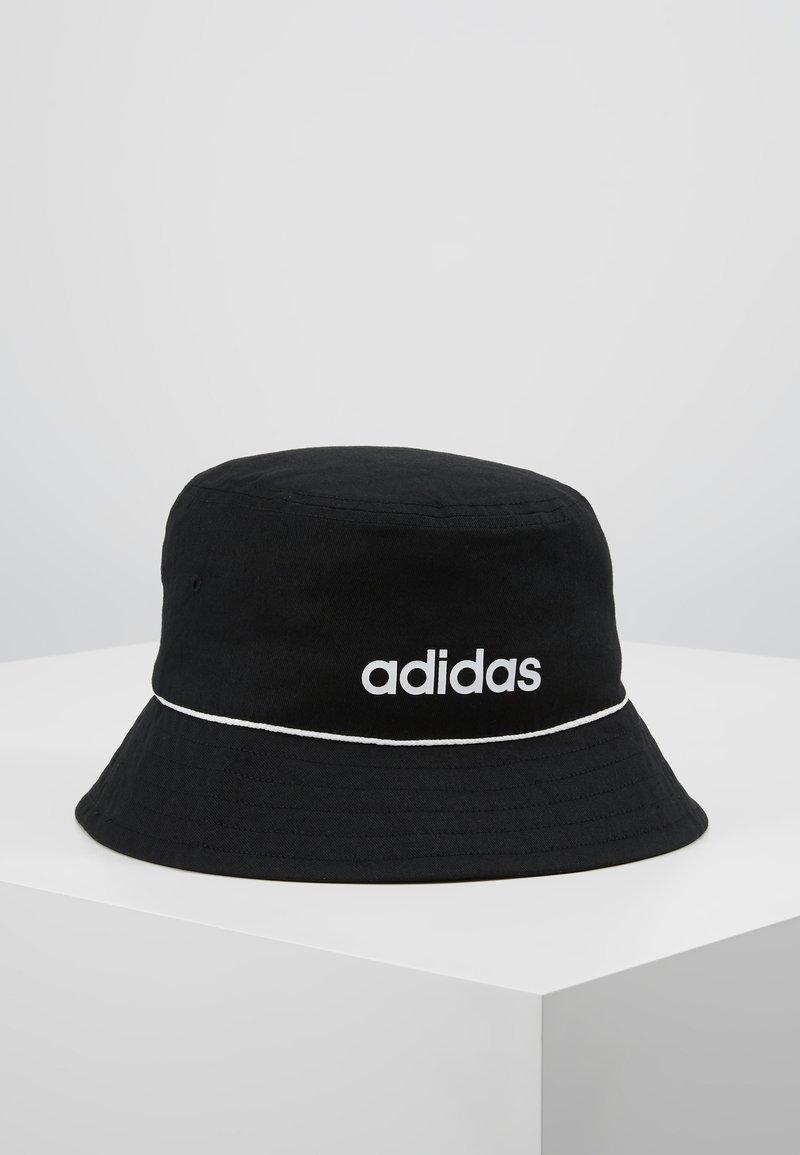 adidas Performance - BUCKET HAT - Klobouk - black/white