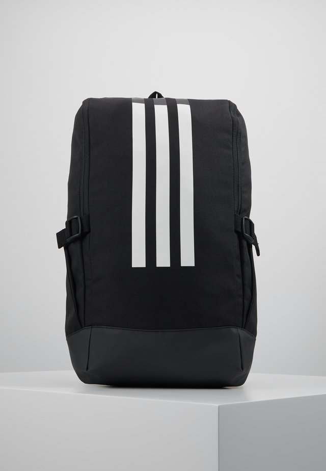 ESSENTIALS 3STRIPES SPORT BACKPACK - Rucksack - black/black/white