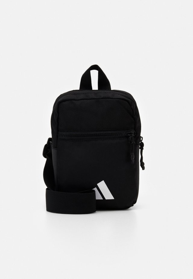 PARKHOOD UNISEX - Across body bag - black/white